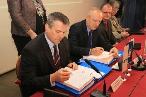 HE BREŽICE - podpis pogodbe za dobavo turbin in generatorjev