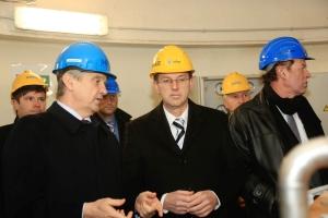 HE Brežice – obisk predsednika vlade dr. Mira Cerarja