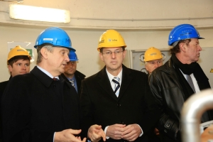 HPP Brežice Visited by P...