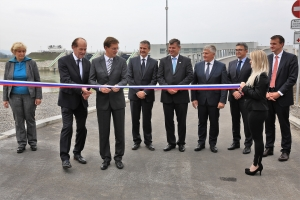 Opening of HPP Brežice