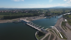 Year-long trial operation of HPP Brežice