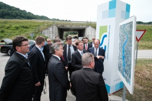 Visit by Slovenia's Prime Minister, Dr Miro Cerar, and presentation of the start of construction of HPP Mokrice