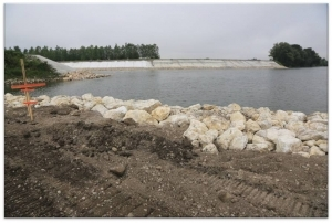 Diversion of the Sava River